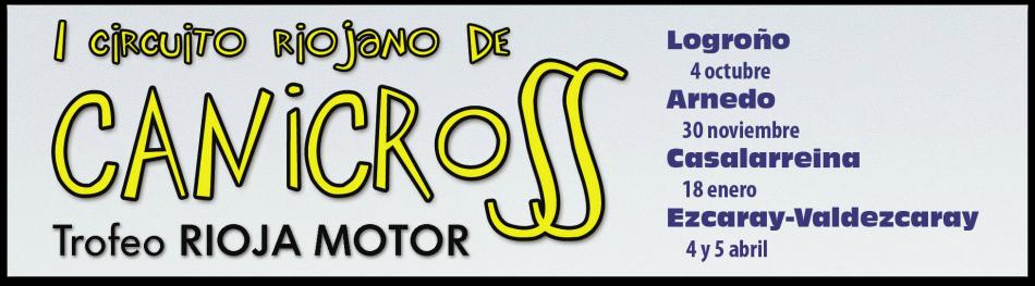 """Presentación del """"I Circuito Riojano de Canicross Trofeo Rioja Motor 2014-15"""""""